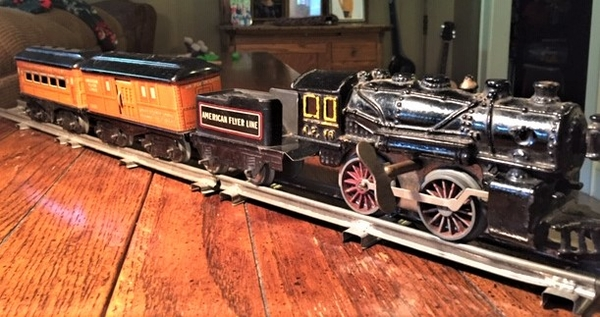 American Flyer type 11 loco and train