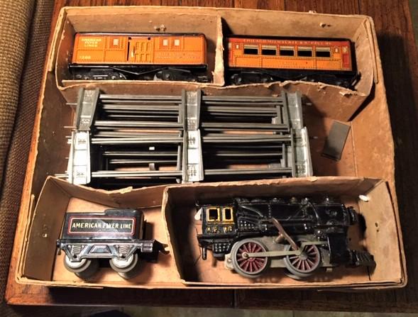 American Flyer type 11 loco set box