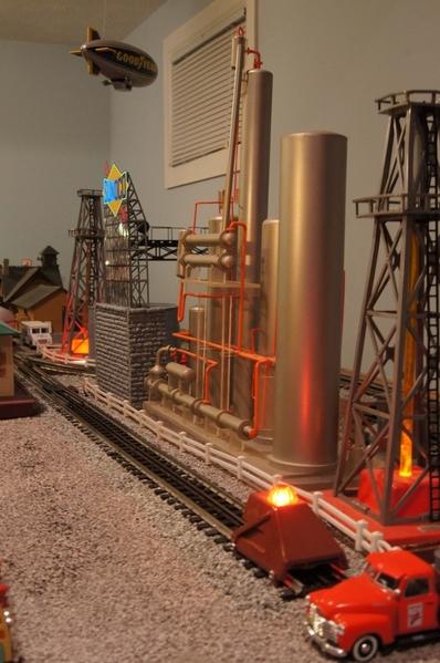 Refinery Scene