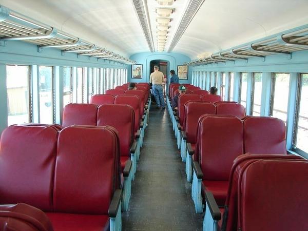 P70 Coach Interior
