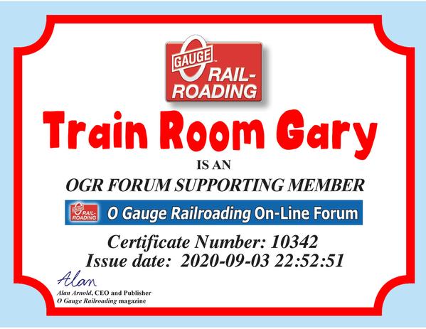 OGR Certificate Supporter