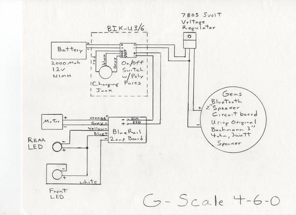 4-6-0 bluerail diagram