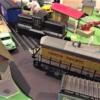 Williams GE 44 ton switcher traffic jam