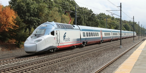 New Acela in RI