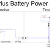 LionChief Plus Battery Power Conversion Schematic