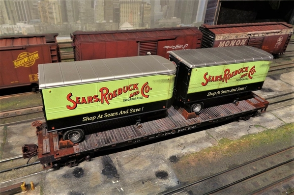SEARS MTH NKP TRAILERS SP Collection 20 [1)
