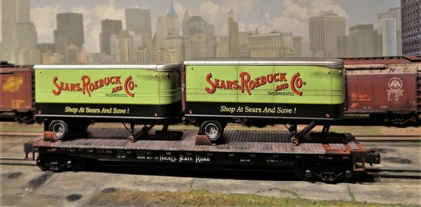 SEARS MTH NKP TRAILERS SP Collection 20 [2)