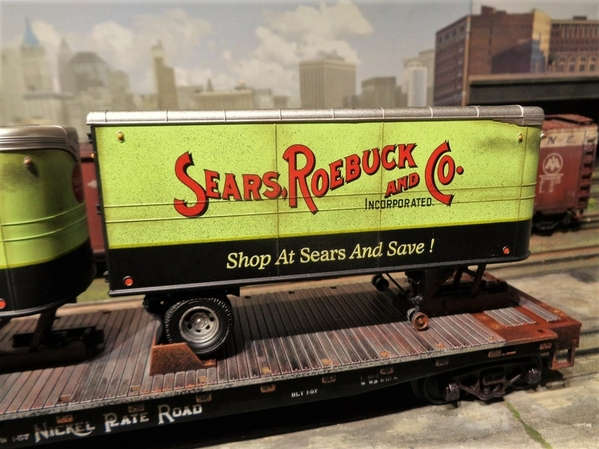 SEARS MTH NKP TRAILERS SP Collection 20 [4)