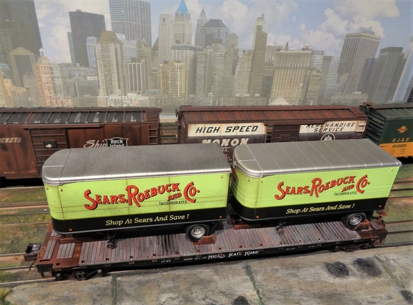 SEARS MTH NKP TRAILERS SP Collection 20 [10)