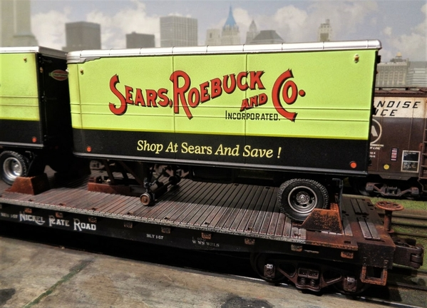 SEARS MTH NKP TRAILERS SP Collection 20 [12)