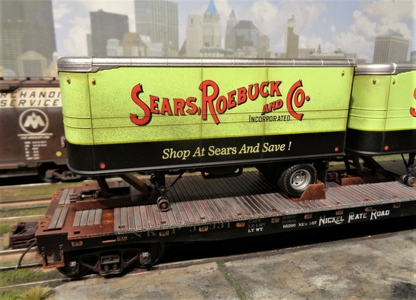 SEARS MTH NKP TRAILERS SP Collection 20 [13)
