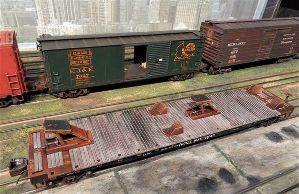 SEARS MTH NKP TRAILERS SP Collection 20 [15)