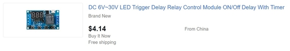 ebay timer module