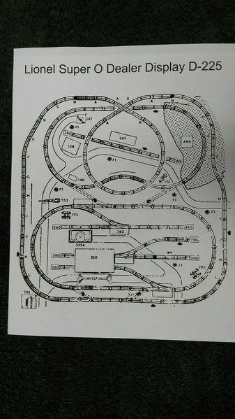 D225 Train Layout