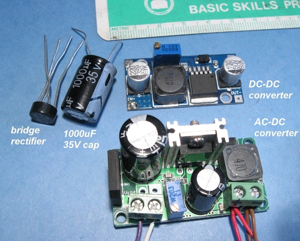 ac-dc vs dc-dc with loose parts