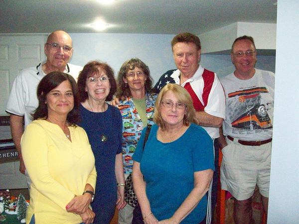 John, Sue, Dotty, Linda, Marty & Erol 8-24-13