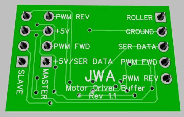 TMCC Motor Driver Buffer 1.1 3D N2