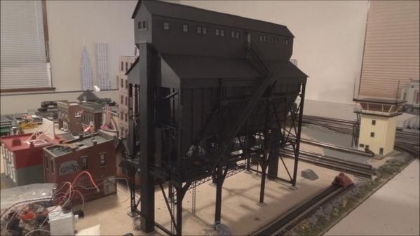 3 Track Tower O Scale Custom Built