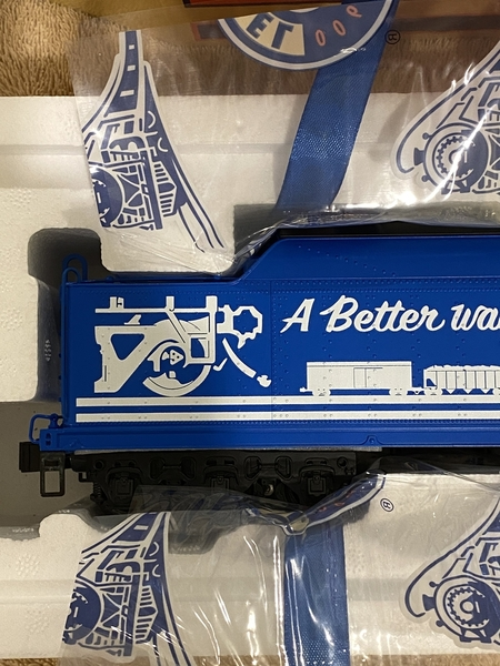 Lionel 2031660 Conrail T1 Auxiliary Water Tender [2)