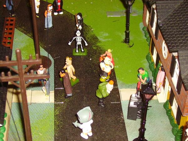 z - Halloween Street Front - day