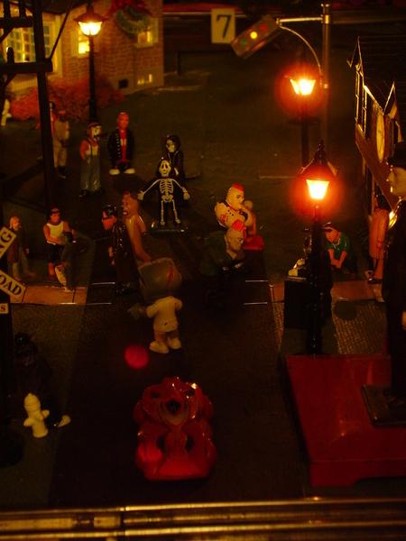 z - Halloween Street Front - night