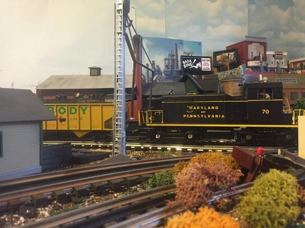 Switcher Peabody coal & Ma Pa