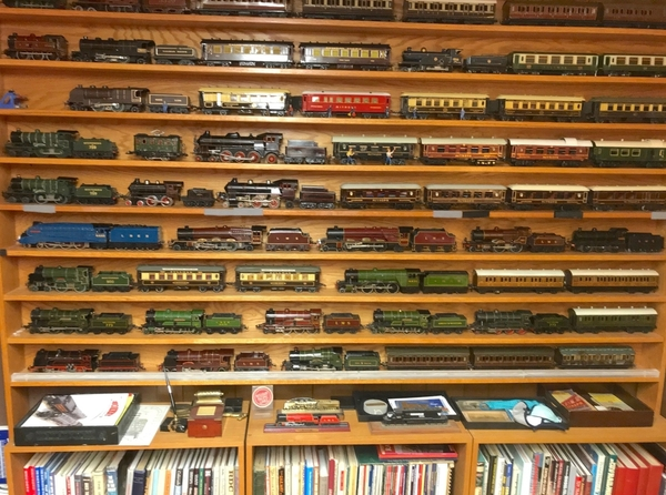 OFFICE WALL OF TRAINS 2020
