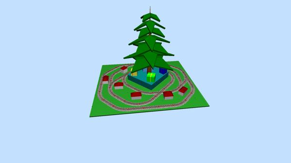 MTH 3X xmas tree 2020 b 3D