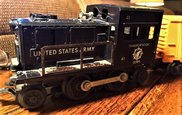 Lionel #41 Army Switcher