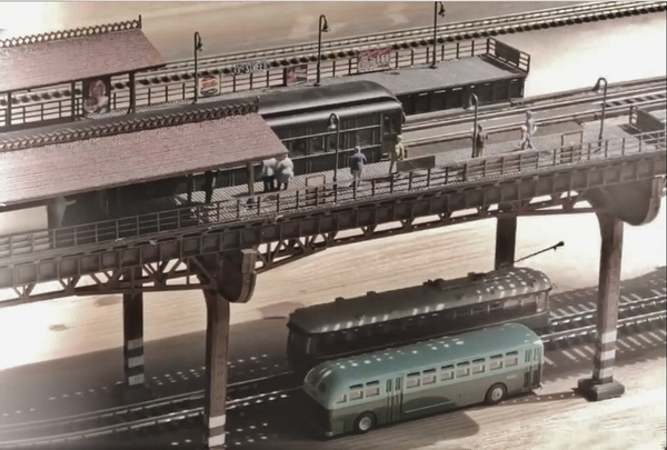 Over and under the N Scale EL