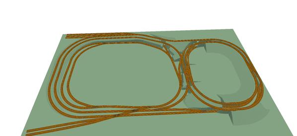 John's Track Plan 3D