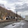 C07-25 approaches Haysville crossing LHF. c. Pittsburgh Railfan.