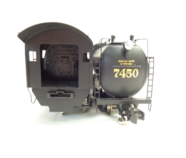 Right-Of-Way B&O # 7450 KK2 2-6-6-2 Articlulated Brass Engine & Vandy Tender - Sample PhotoK