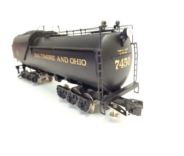 Right-Of-Way B&O # 7450 KK2 2-6-6-2 Articlulated Brass Engine & Vandy Tender - Sample PhotoH