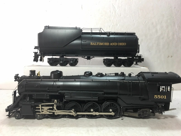 Weaver 1701-L B&O # 5501 CUSTOM Brass 4-8-2 w Vandy Tender [2000 Custom, 745 list) Actual Photo2
