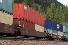 double stack container train - Google Search | Tedarik zinciri