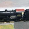 CB&Q 2-8-2 custom painted by RJB