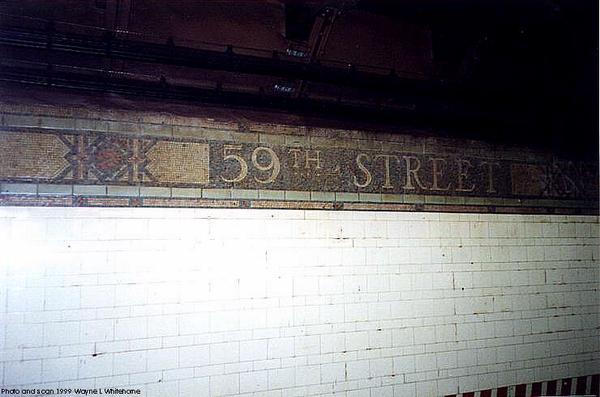 59th St 4th Avenue Line Mosaic