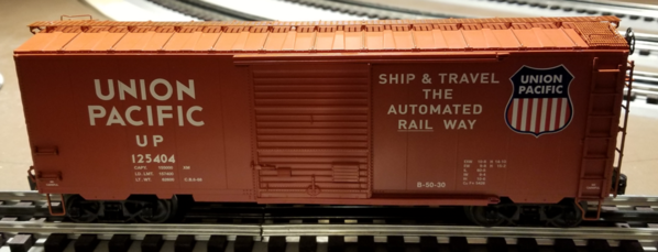 Lionel 2026190 UP 'flat spot' PS-1 Boxcar First Look N1