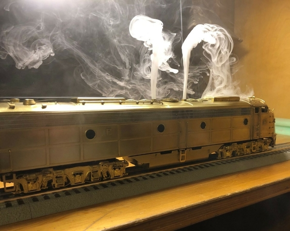 smoke unit installed