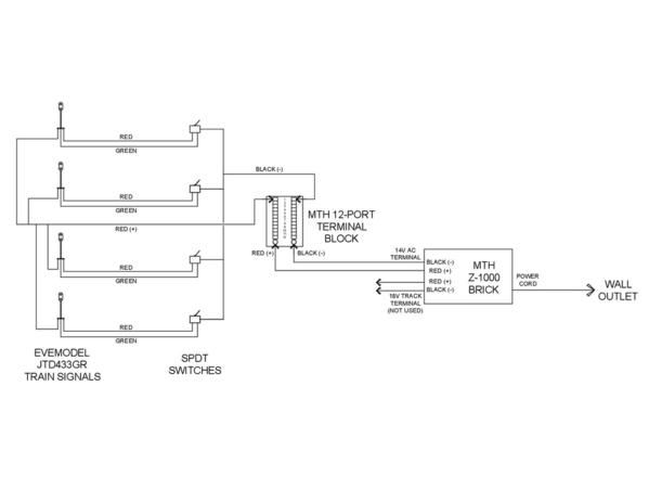 JTD433GR Wiring Diagram