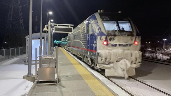 Troy Amtrak Night