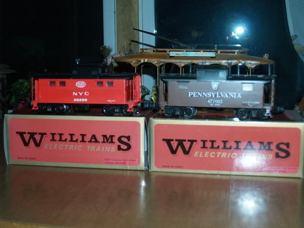 Williams Brass Cabooses