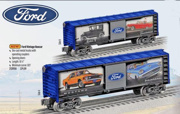 Ford Mustang Boxcar v2