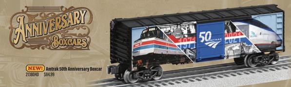 Amtrak Boxcar