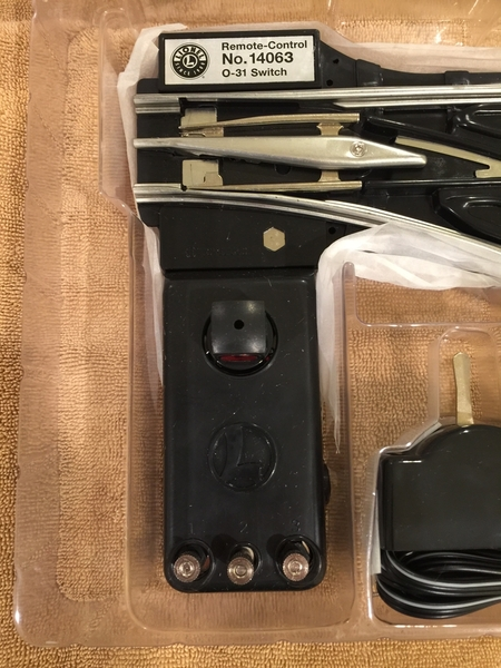 Lionel 14063 O-31 RH Remote Switch [4)