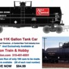 Solvay Process Tank Car Jr Junction Train Hobby Sign