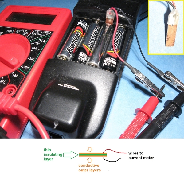 measure DCS remote battery current