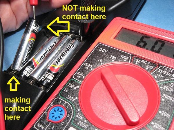 open circuit battery voltage