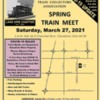 """Train Collectors Association – Lake Erie Chapter Presents """"Spring Train Meet"""""""